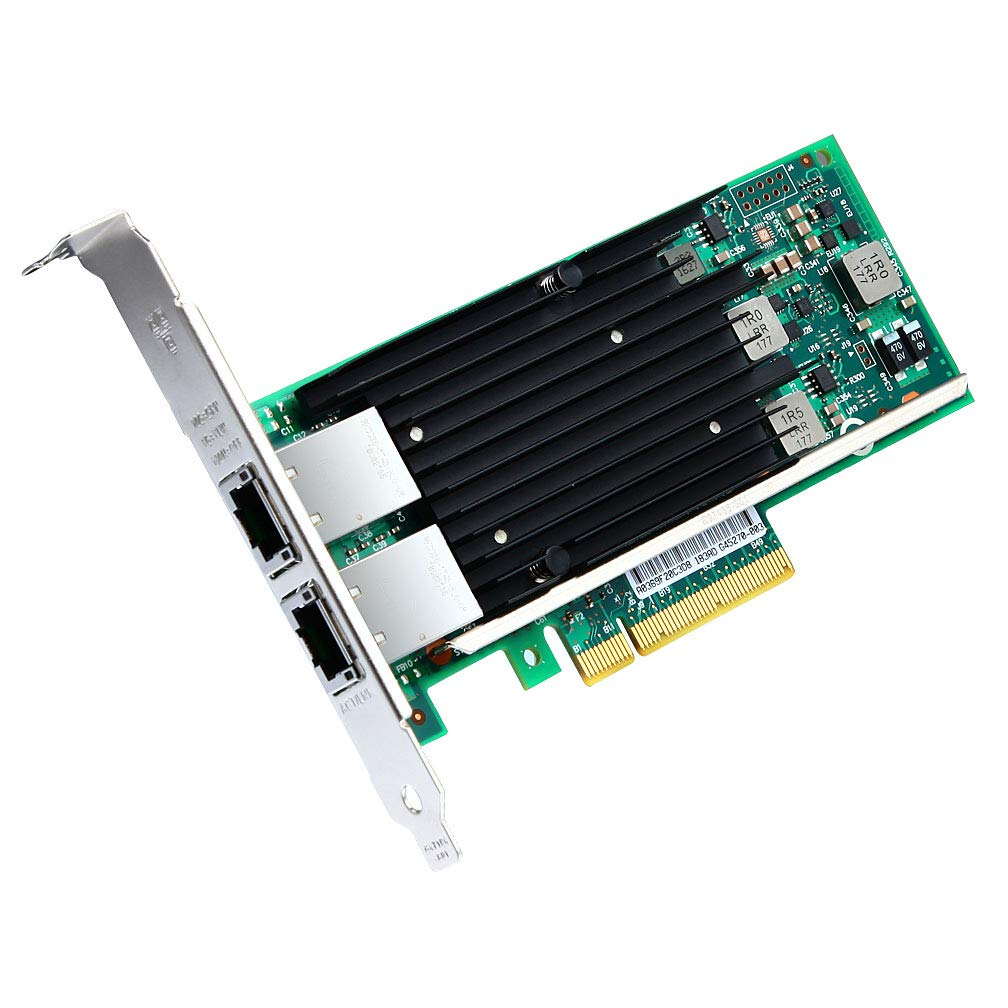 ipolex for Intel X540-T2, 10GbE Converged Network Adapter(NIC), X540 Chipset, PCI-E X8, Dual RJ45 Copper Port CNA by ipolex