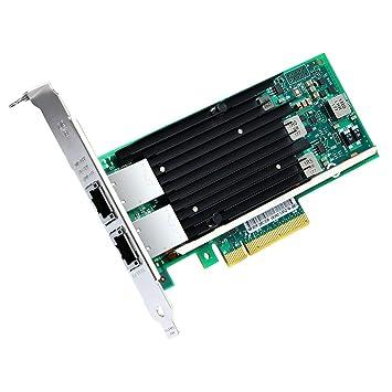 Tarjeta de Red 10 Gigabit PCI Express para Intel X540-T2, Low ...