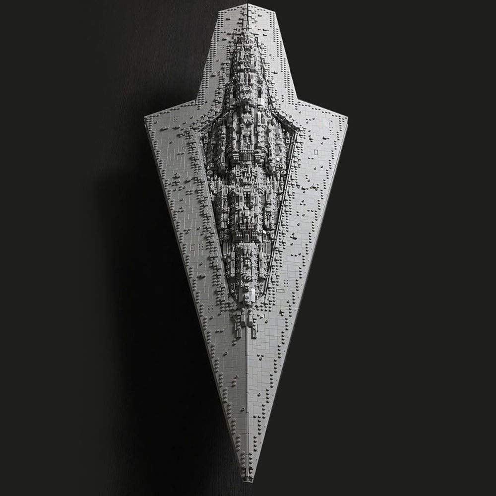 The Star Wars Super Star Destroyer Executor Building Kit Moc Executor Class Star Dreadnought Model Toys 7284 Pcs Buy Online In Saint Lucia At Desertcart