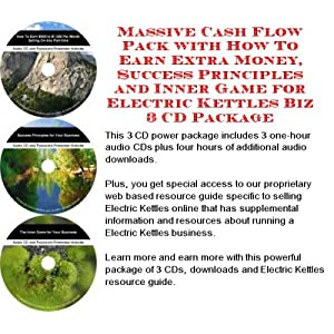 The Secret Make An Extra Income, Marketing and Inner Game for Electric Kettles On-line Businesses 3 CD Course