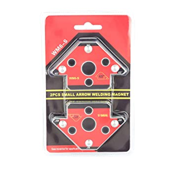 2pcs Flecha Soldadura Titular Magnético, Flecha Localizador de Soldadura Soldador Magnético Portaherramientas Soldador Accesorio 45