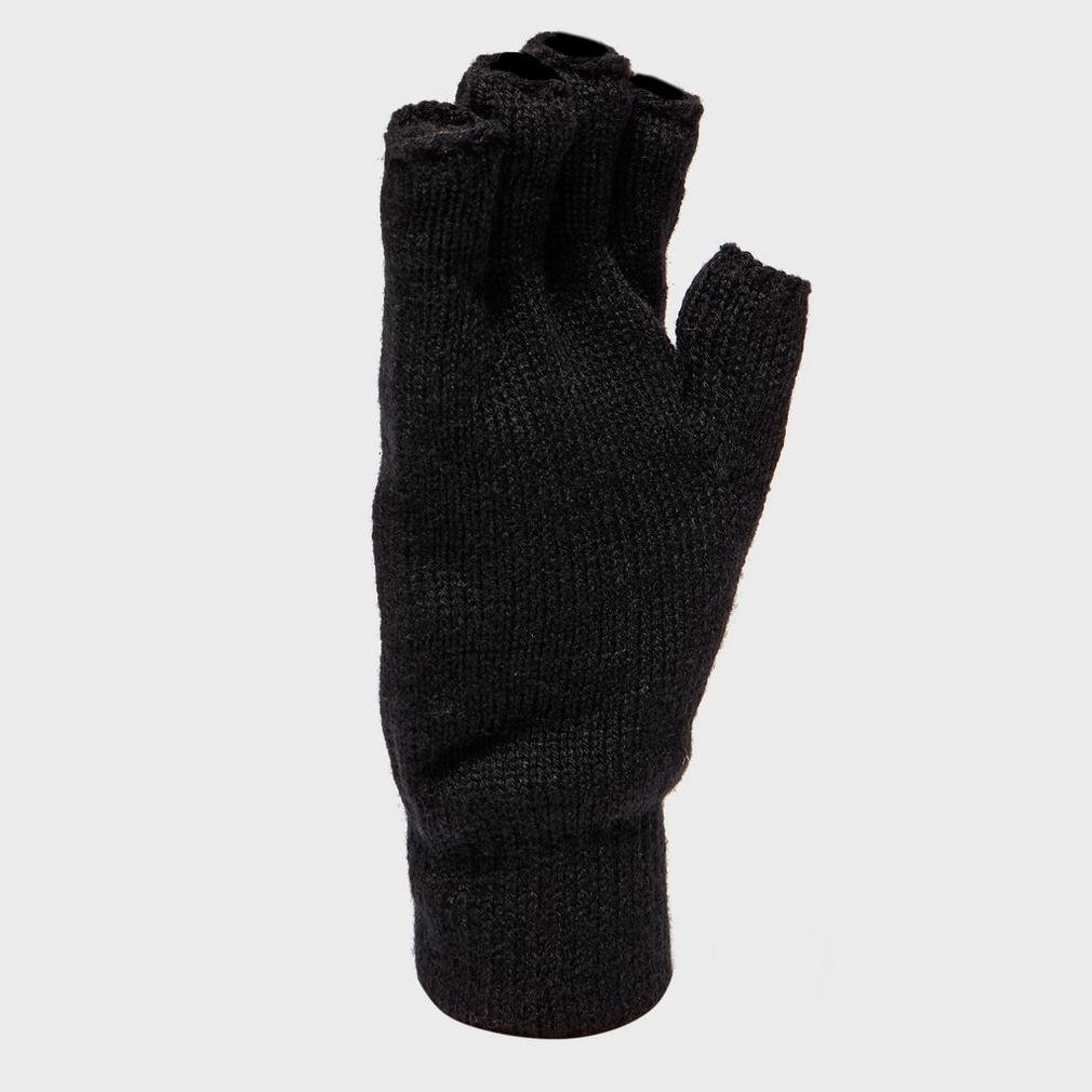 Damen Camping & Outdoor Peter Storm Damen Thinsulate Fingerlose Handschuhe Outdoor-Bekleidung Schwarz