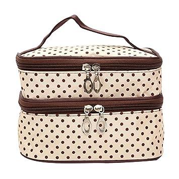 ad389eff7e Amazon.com  SparkLia Wavelet point double travel waterproof bag ...