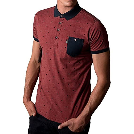 883 Police Radd Polo Shirt | Rosewood Medium [3] 38