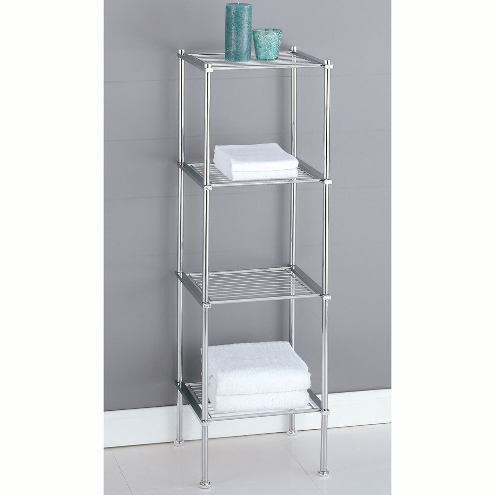 to over shelf store bathroom bath tower bathtub the roll s satin shower zoom container nickel tier