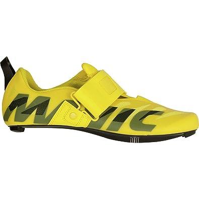 2f266ddadc4 Mavic Cosmic SL Ultimate Tri Shoe - Men's Yellow Mavic/Black, US 8.5/