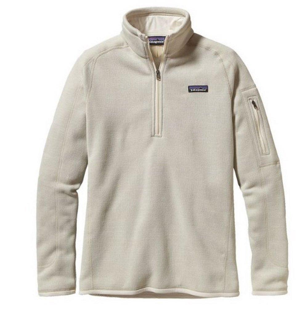 Patagonia  Women's  Sweater with 1/4 Zip Fleece - Large - Raw Linen