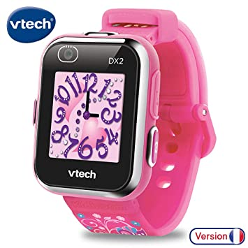 VTech- Kidizoom Smartwatch Connect DX2 Rose Reloj, Color Rosa (193835)