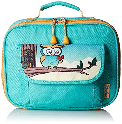 bixbee-kids-teal-owl-insulated-lunch-box
