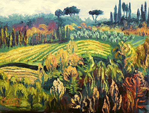 Chianti, Hillside Near Greti
