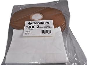 Eureka/Sanitaire BV-2 Paper Back Pack Vacuum Bags, 10 per Pack