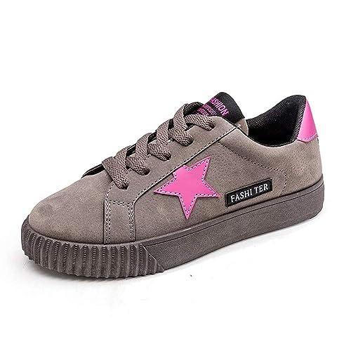 beautyjourney Scarpe da Ginnastica Basse Sandali donna Scarpe basse  sneakers estive eleganti donna scarpe da corsa 90b0be31afc