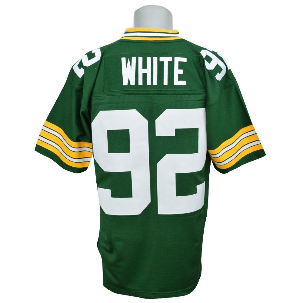 Mitchell&Ness(ミッチェル&ネス) NFL パッカーズ レジー ユニフォーム Trowback Replica ユニフォーム (1996-Green) 40(M)  B07BKTHFRC