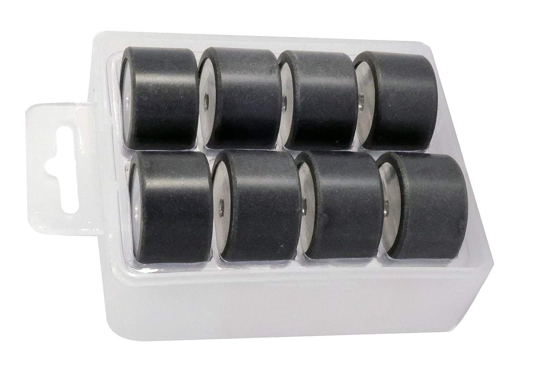 Easyboost rodillos variador 25 x 14.9 mm - 14,9 gr. Yamaha Tmax 500/530 (todos los modelos) / Xmax 400 / Evolis 400 / Majesty 400: Amazon.es: Coche y moto