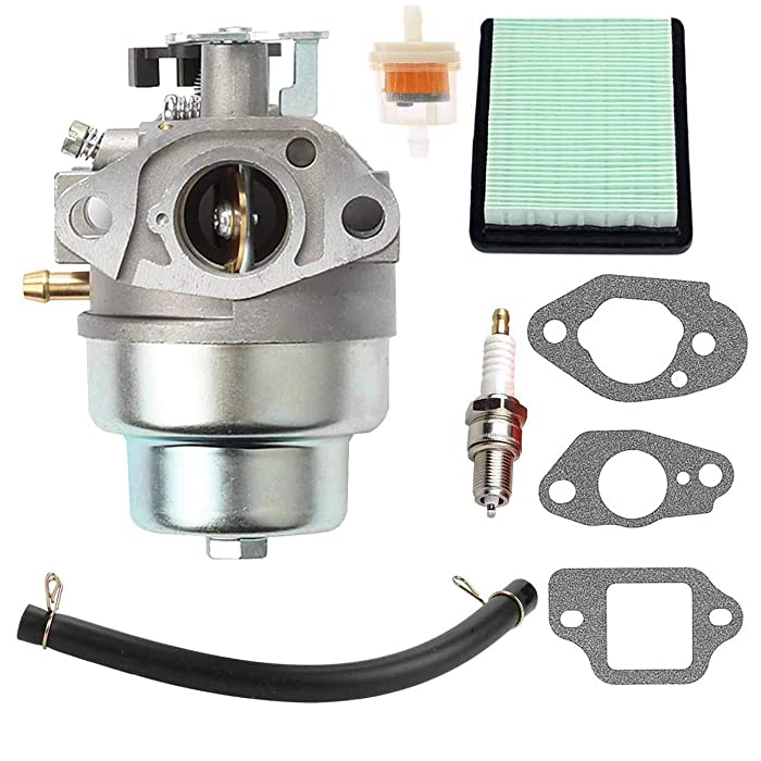 New GCV160 Carburetor + Air Filter Spark Plug for Honda GCV160 Engine HRB216 HRR216 HRS216 HRT216 HRZ216 Lawn Mower