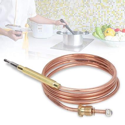 Kit de Adaptador de Termopar Estufa de Gas Adaptador Universal de Repuesto para Chimenea de Termopar de Delaman: Amazon.es: Hogar