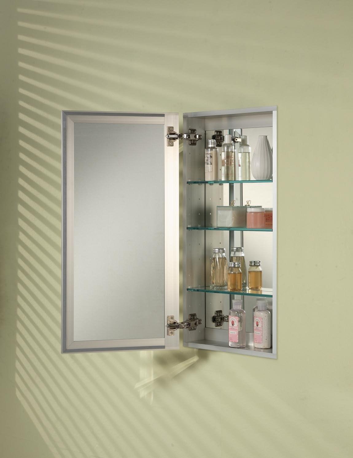 Afina SD 1519 R BRD-BV Broadway Single Door Medicine Cabinet