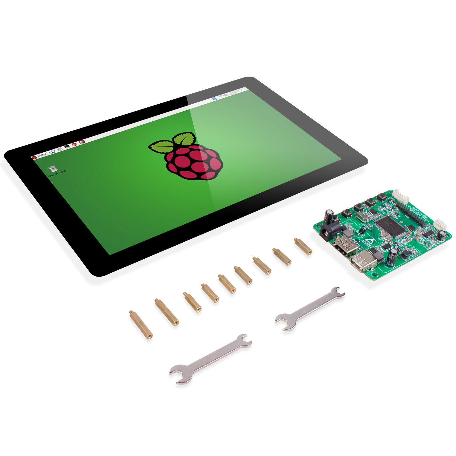 Raspberry Pi 101 Display Touchscreen Computer Zubehr Ips Ups Circuit Diagram