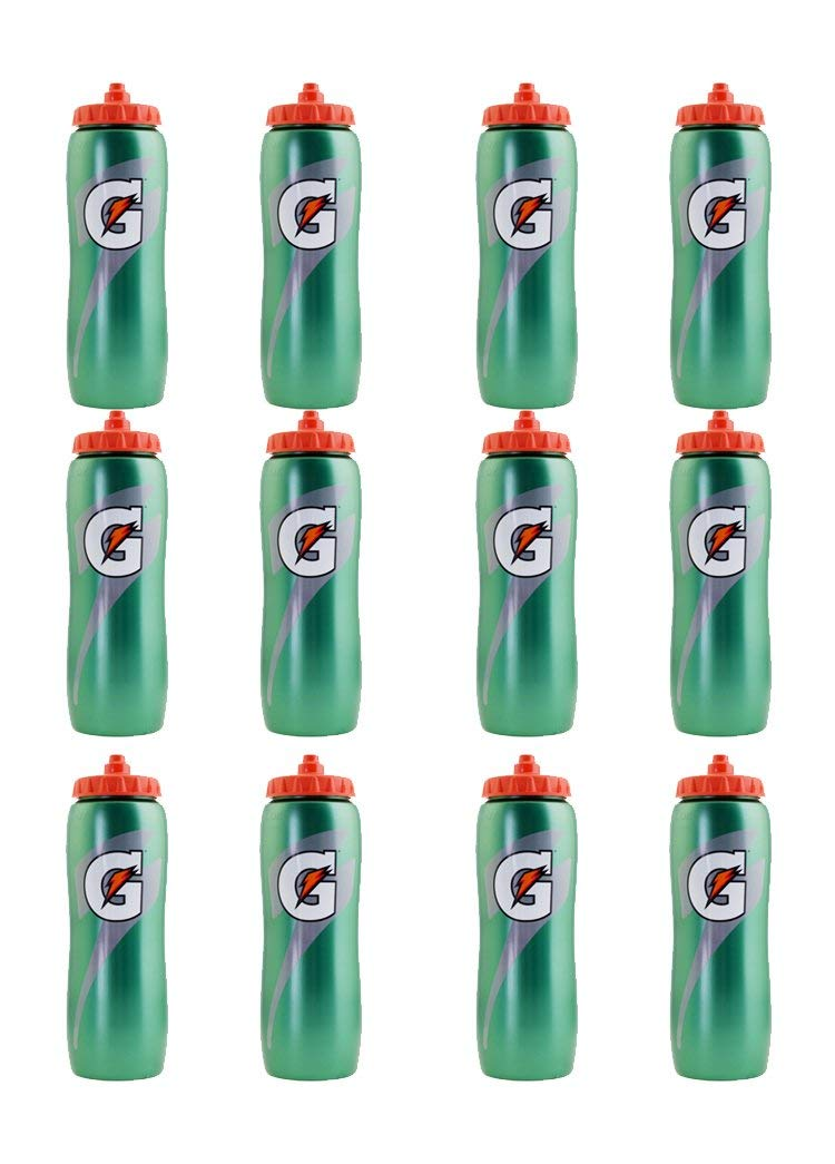 Set of 12 32 oz. Gatorade 'G' Squeeze Bottles