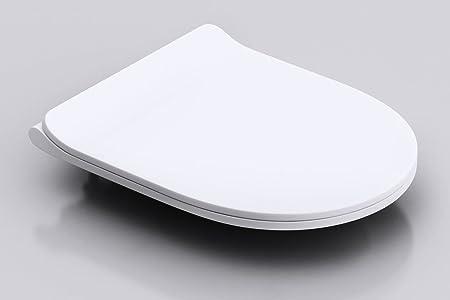 soft touch toilet seat. Durovin Bathrooms Soft Close Toilet Seat  D Shape Slim Design One Touch Button Quick