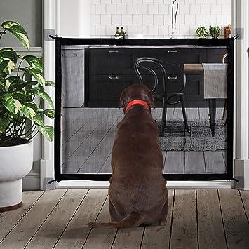 Amazon.com: Magic Gate Puerta de seguridad para mascotas ...