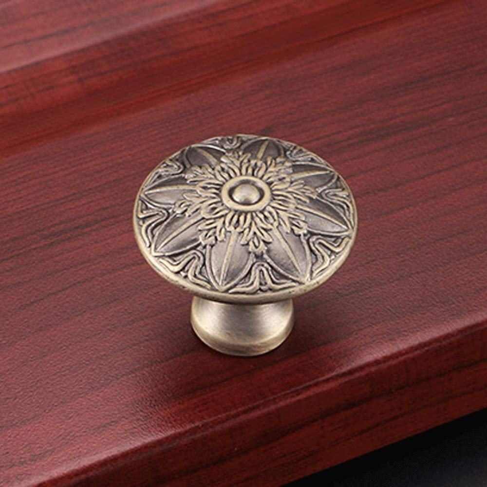 Unique Double Eagle Cabinet Knob Antique Chest Drawer Cupboard Door Handle Pull