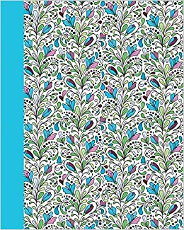 journal dream garden blue 8x10 lined journal writing journal with blank lined pages