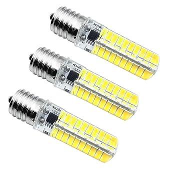 E17 LED bombilla, intensidad regulable bombillas LED luz blanca 5W ...