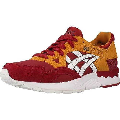 Sneaker ASICS H6S5L GEL LYTE V Color Rosso