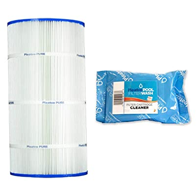 Pleatco Cartridge Filter PA90 90sqft Hayward C900 CX900RE Sta-Rite PXC-95 w/ 1x Filter Wash : Garden & Outdoor