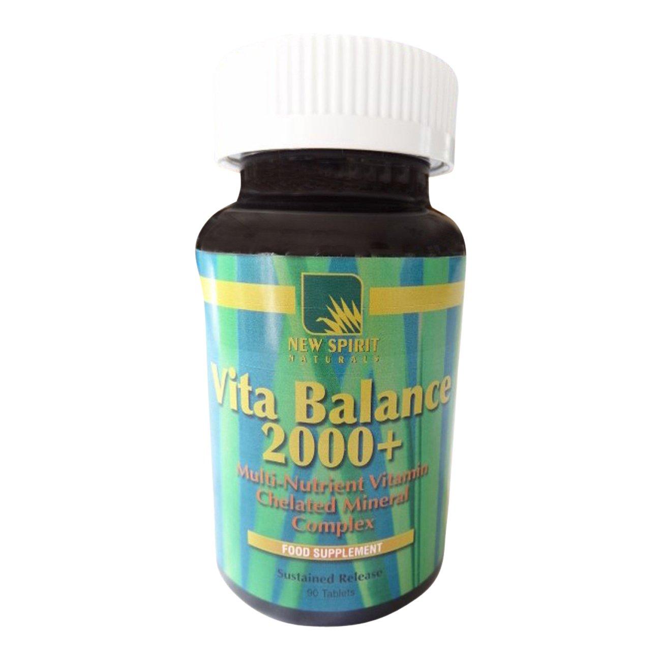 Vita Balance 2000 – Best Balanced Multivitamin