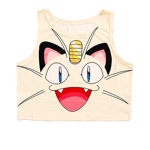 9cbf3da06ab5d Women Bustier Crop Top Skinny T-Shirt Sports Dance Tops Vest Tank (Beige)