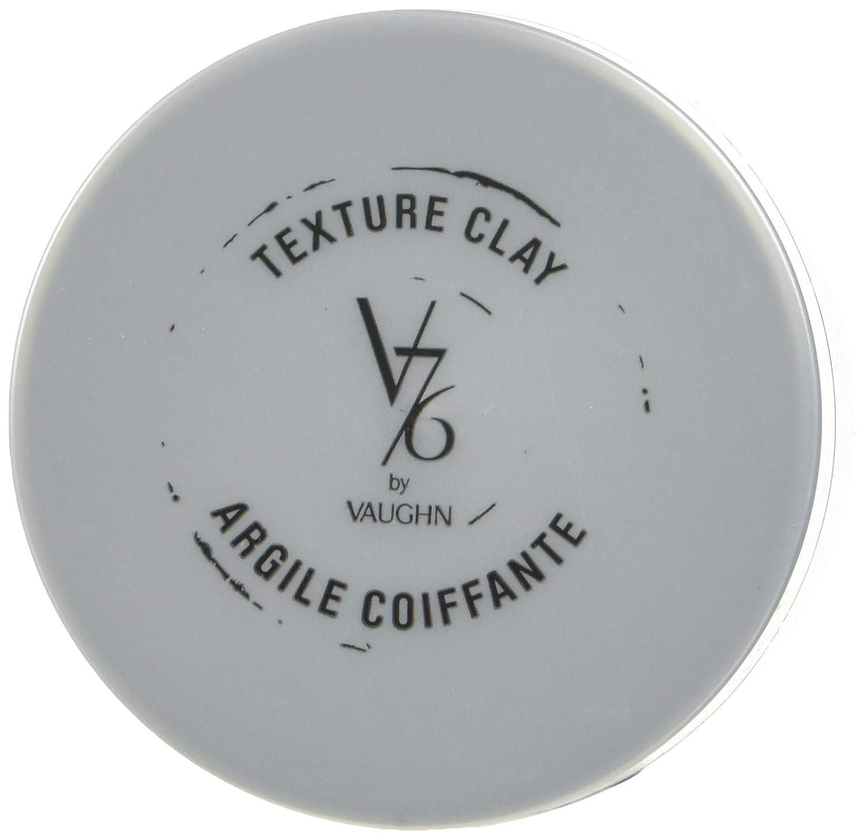 V76 by Vaughn TEXTURE CLAY Medium Hold Formula for Men, 1.7 oz: Premium Beauty