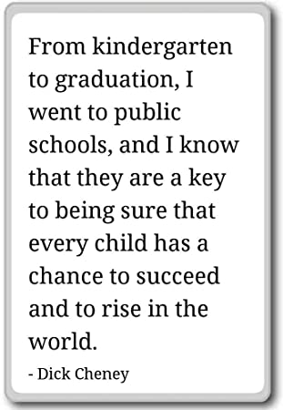 Amazon.com: From kindergarten to graduation, I went to publ ...
