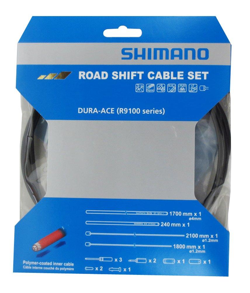 SHIMANO Dura-Ace OT-SP41//OT-RS900 Cables de Cambios y Fundas para Cables de Cambios Negro 2018