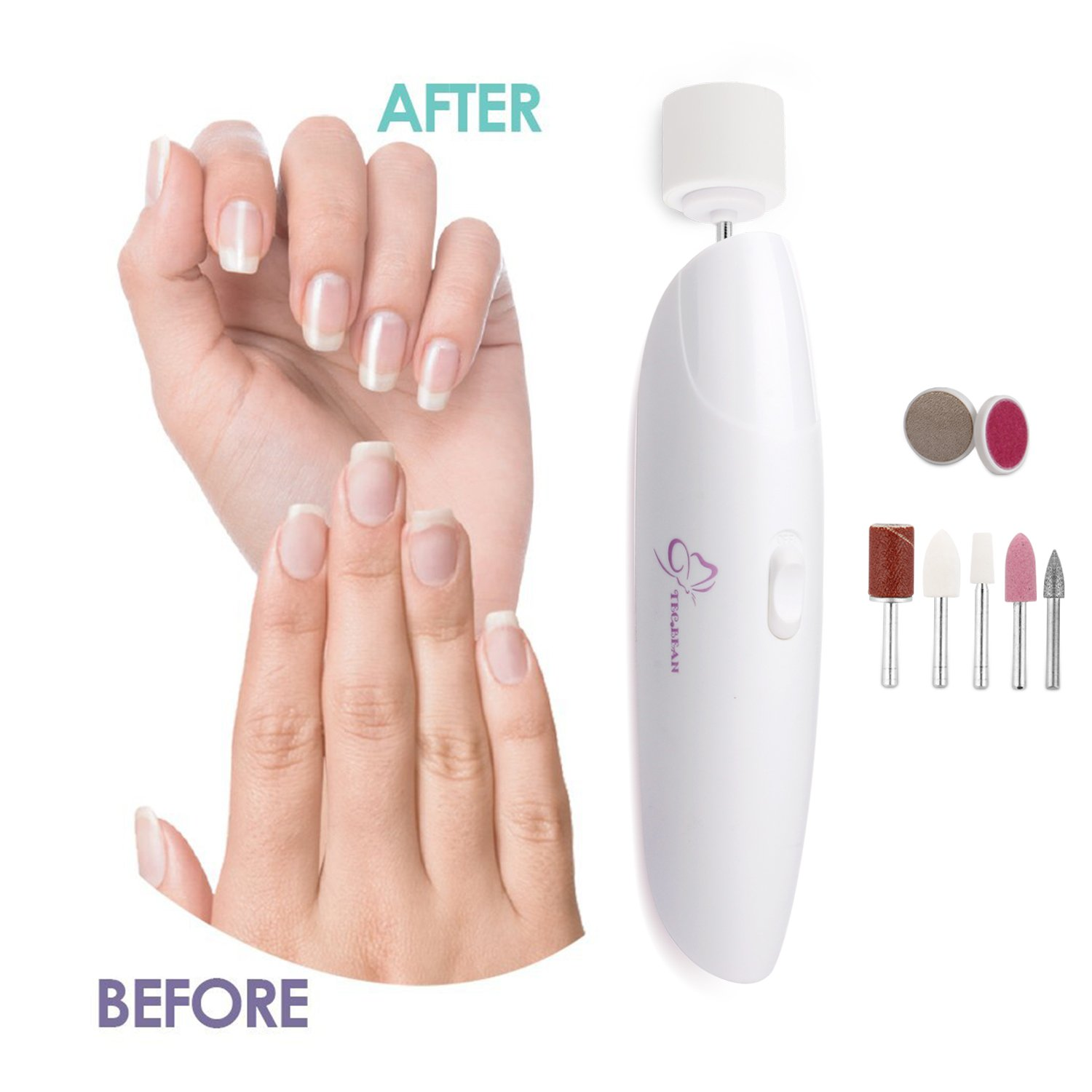 Amazon.com : Electric Manicure and Pedicure Set, 8-in-1 Nail Care ...