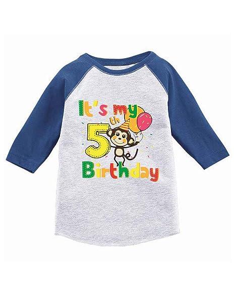 Amazon.com: Awkward Styles Monkey - Camiseta de cumpleaños ...