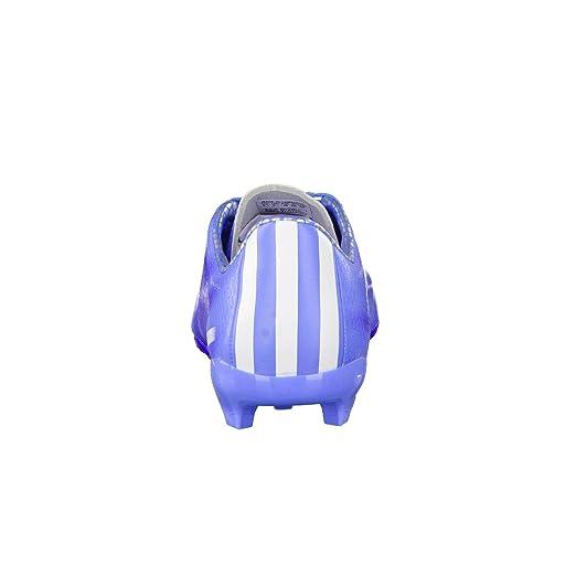hot sale online a743e 0148b adidas Damen Fussballschuhe F10 FG Lucky BlueFtwr WhiteNight Flash 38 23  Amazon.de Sport  Freizeit
