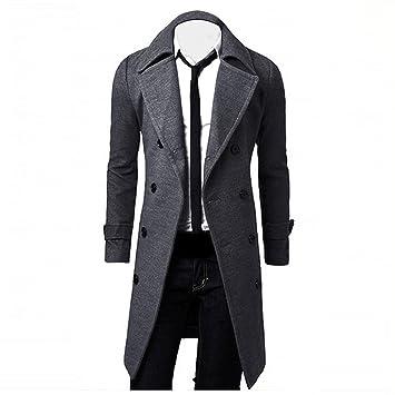 De Trench hiver Britannique Élégant Hommes Manteau Slim Style wCxYvWqd