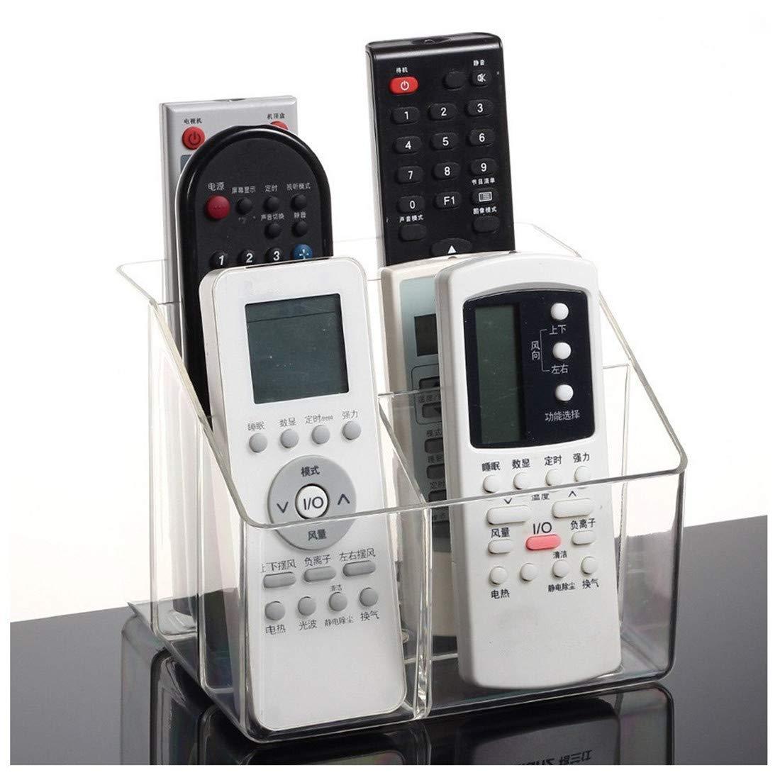 Ivosmart Clear Acrylic TV Remote Control Storage Holder Organizer Caddy by Ivosmart