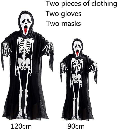 YINGZU Traje de Piel de Hueso Esqueleto Mediano para Hombre de ...