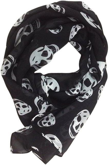Foulard écharpe bandana tête de mort 4