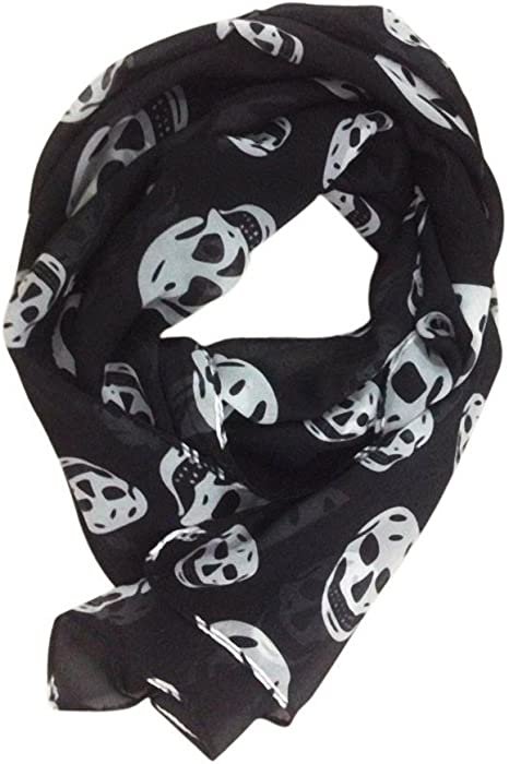 Acheter foulard echarpe bandana tete de mort online 1