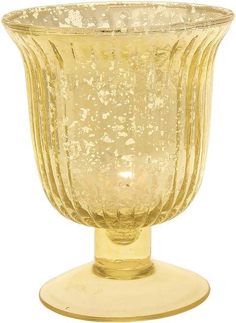 Mercury Glass Jug Vintage Home Decor Accent