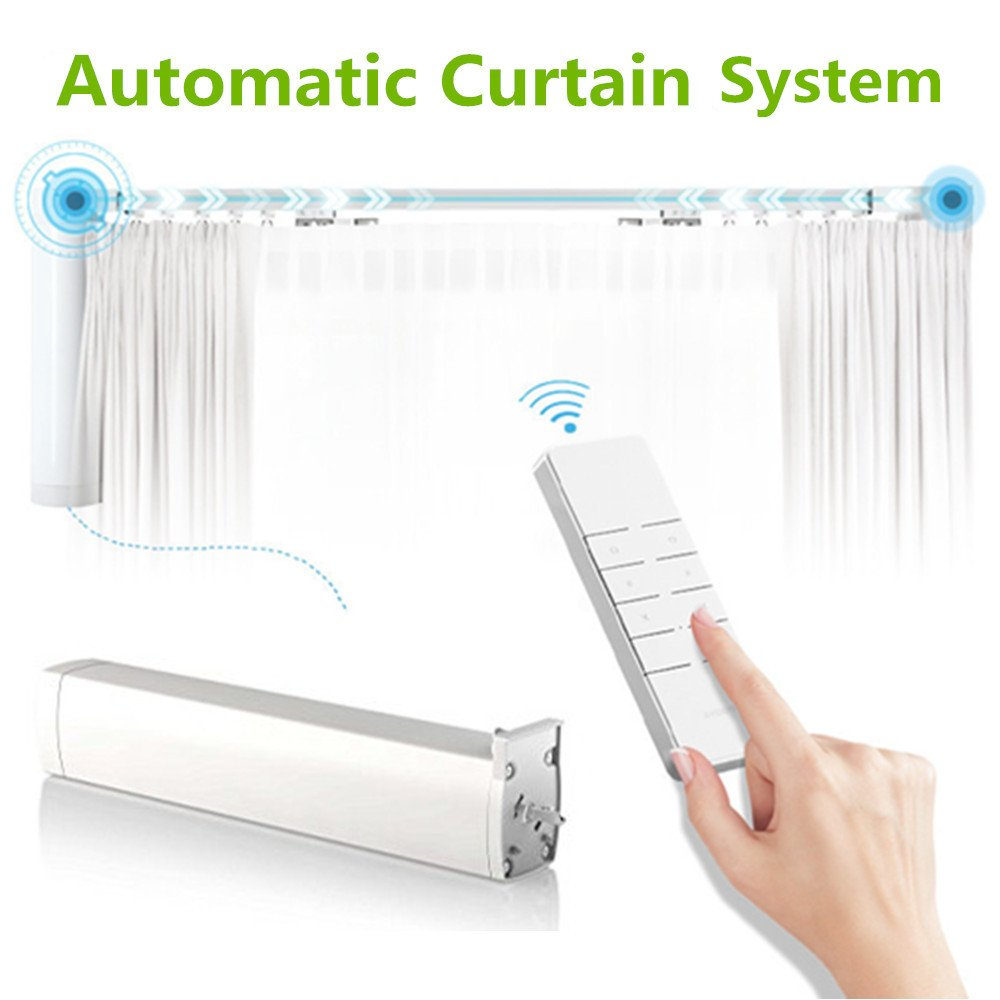 100 Automatic Blind Opener And Closer Amazon Com Automatic Curtain System Electric Remote