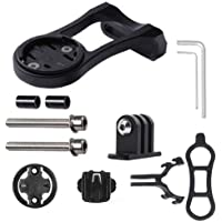 3-in-1 Cycling Bike Computer GPS Out Front Mount Holder for Garmin Edge Cateye Bryton Bike Computer Gopro Sport Camera…