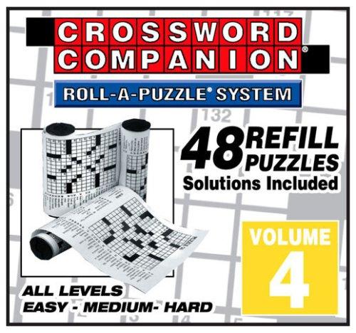 UPC 755899393244, Volume 4  Crossword Companion Refills - 48 Puzzles