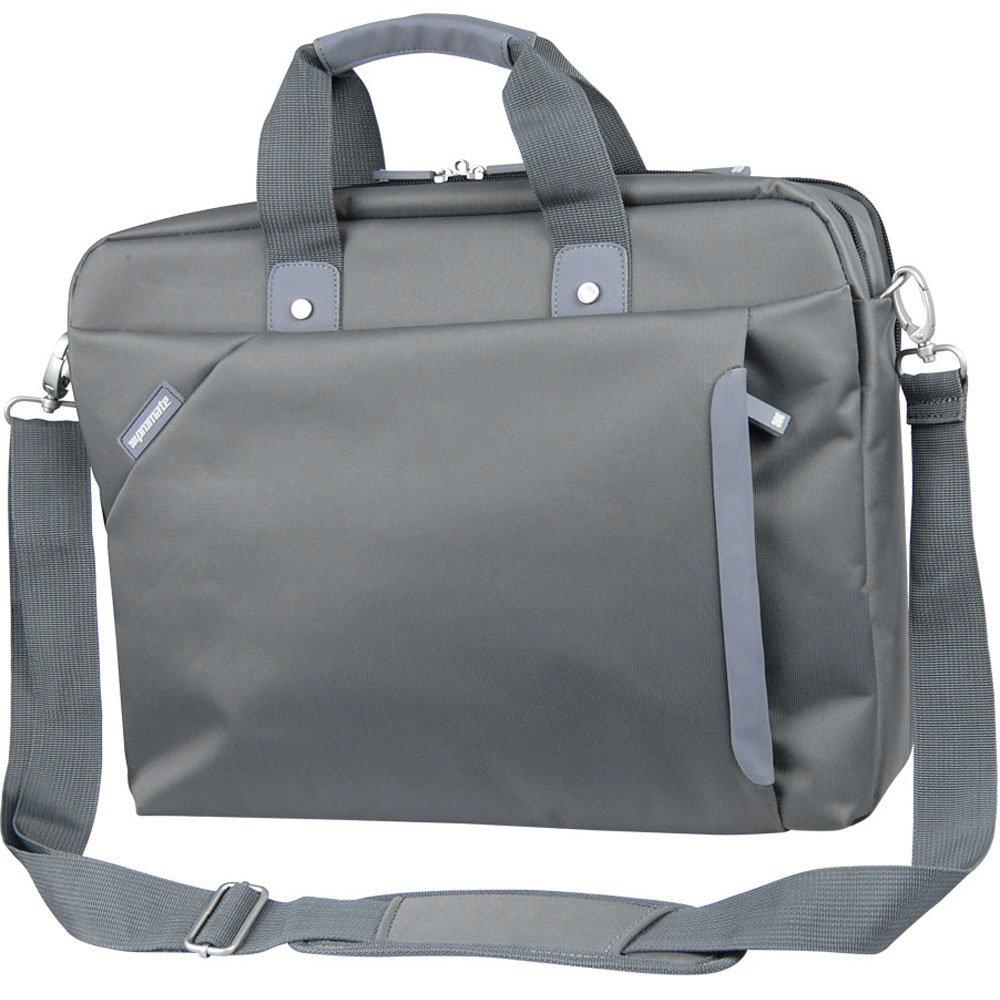 Promate Kini Series Nylon Notebook Messenger Bag 15.6 Inch Kini.Hm