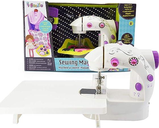 Xiaotian Caja de Regalo de Costura, Mini pequeña máquina de Coser de Juguete para niños en Miniatura portátil, Ideal para Navidad, Regalos de cumpleaños,B: Amazon.es: Hogar