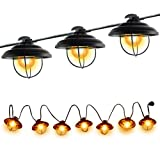 Amazon Price History for:Patio String Lights, Ucharge Globe String Lights Outdoor 7 Clear Bulbs Ambience Lighting with Metal Case and Black Wire Kitchen/Cafe/Gazebo/Party/Indoor/Outdoor String Lights - Backyard Lights 8.5ft